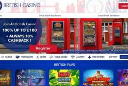 All British Casino - ongoing offers